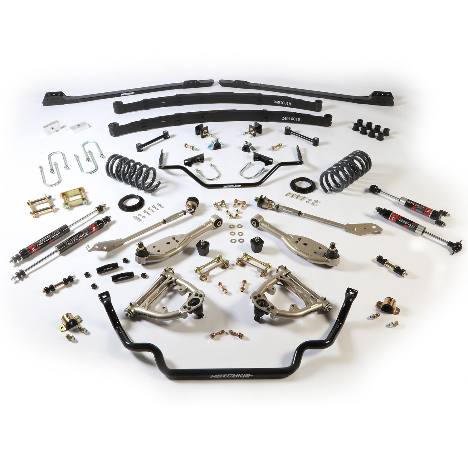 1967-70 Ford Mustang Stage 2 TVS Suspension System, Small Block