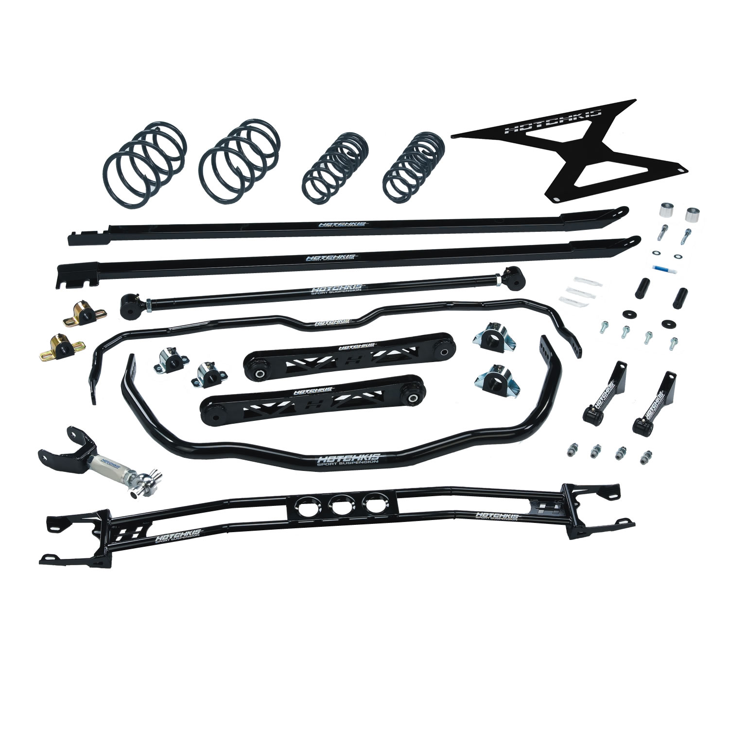 2011-2014 Ford Mustang V8 TVS Suspension System Stage 2, Manual Trans. Only