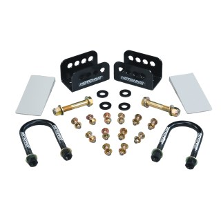 1963-1972 Chevrolet C-10 / GMC C15 Truck Rear Anti Squat Bracket System. - Thumbnail Image