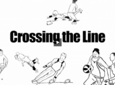 """""""Crossing the line"""" report cover"""