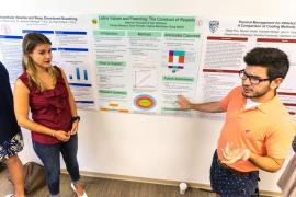 HBREX students present their research posters
