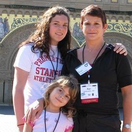 Kari Grabowsky and family