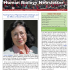 Front page of summer 2017 newsletter, Prof. Rodriguez photo, and table of contents