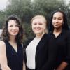 Left to Right: Claudia Heymach, Brooke Vittemberga, Sofia Ali