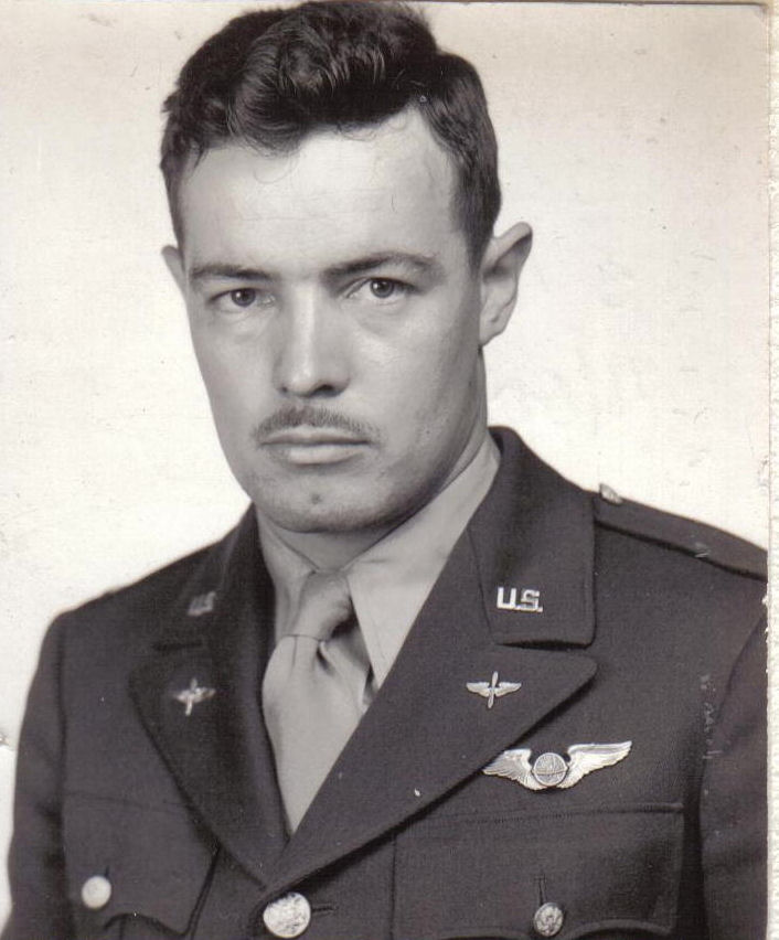 Attached photograph of Second Lieutenant Bedore