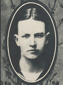 Attached photograph of Seaman Second Class Baldwin