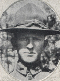 Attached photograph of First Lieutenant Black