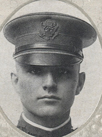Attached photograph of Second Lieutenant Bloecher