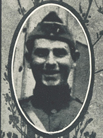 Attached photograph of First Lieutenant Buckley