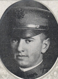 Attached photograph of Second Lieutenant Casey