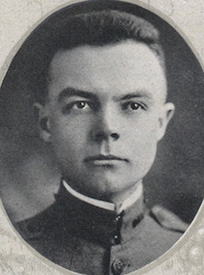 Attached photograph of First Lieutenant Clarke