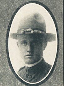 Attached photograph of Sergeant Daley