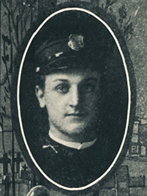 Attached photograph of Ensign Durgin