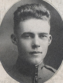 Attached photograph of First Lieutenant Fenelon
