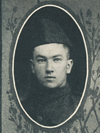 Attached photograph of Corporal Galvin
