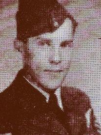 Attached photograph of Flight Sergeant Garnett