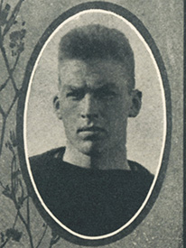 Attached photograph of Lieutenant Garnsey