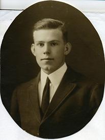 Attached photograph of First Lieutenant Gatton