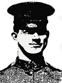 Attached photograph of Staff Sergeant Graf