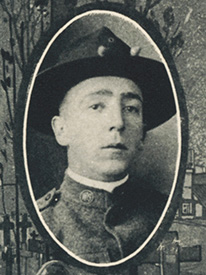 Attached photograph of Corporal Graham