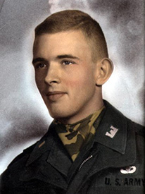 Attached photograph of First Lieutenant Hambleton