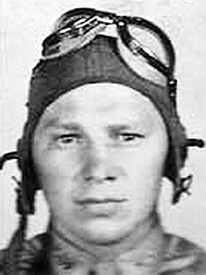 Attached photograph of Second Lieutenant Hanson