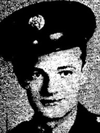 Attached photograph of Technical Sergeant Haugh