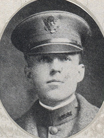 Attached photograph of Second Lieutenant Hoyer