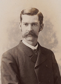 Attached photograph of Corporal Kingston