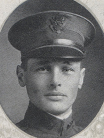 Attached photograph of First Lieutenant Knudtson