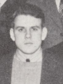 Attached photograph of Second Lieutenant Larson
