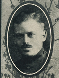 Attached photograph of First Lieutenant Lewis