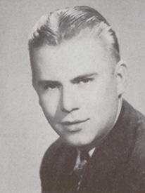 Attached photograph of Lieutenant Luedke