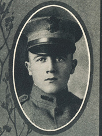 Attached photograph of Lieutenant MacNish
