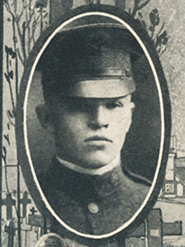 Attached photograph of Corporal McHugh
