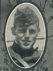 Attached photograph of First Lieutenant Merrill