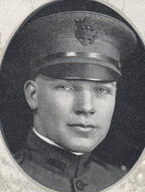 Attached photograph of First Lieutenant Mitchell