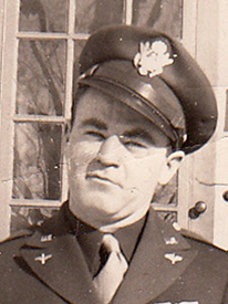 Attached photograph of Second Lieutenant Prees