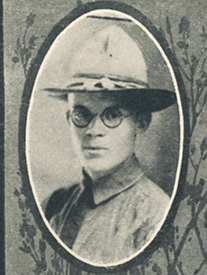 Attached photograph of Sergeant Ramsey