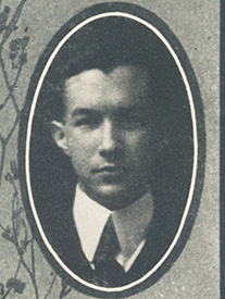 Attached photograph of Cadet Roark