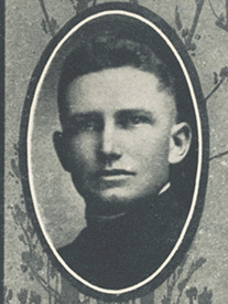 Attached photograph of First Lieutenant Roberts