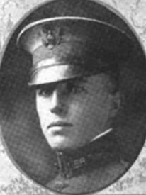 Attached photograph of Second Lieutenant Sargent