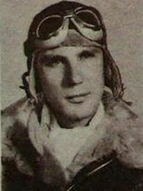 Attached photograph of Second Lieutenant Schanen