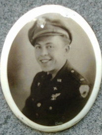 Attached photograph of Flight Officer Schuster