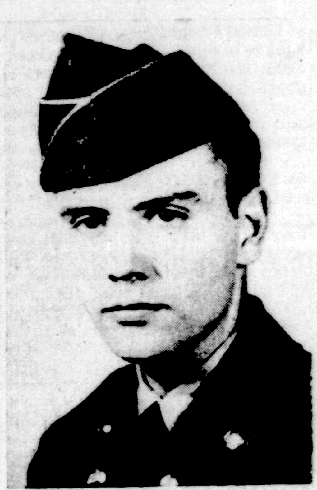 Attached photograph of Private First Class Geiger