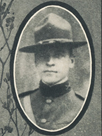 Attached photograph of Lieutenant Storer