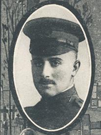 Attached photograph of Lieutenant Sturtevant