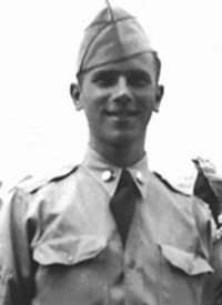 Attached photograph of Corporal Swartz