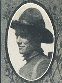 Attached photograph of Private Wagner