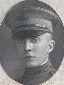Attached photograph of First Lieutenant Wallrich